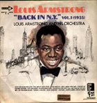 LOUIS ARMSTRONG Back In N.Y. Vol.1 (1935) album cover