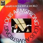 LOUIS ARMSTRONG What a Wonderful World album cover