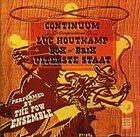 LUC HOUTKAMP Continuum album cover