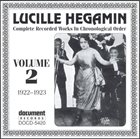 LUCILLE HEGIMIN Complete Recorded Works, Vol.2 (1922-1923) album cover