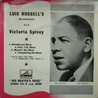LUIS RUSSELL Victoria Spivey With Luis Russell And His Orchestra album cover
