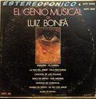 LUIZ BONFÁ El Genio Musical De Luiz Bonfá album cover