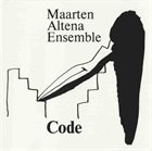 MAARTEN ALTENA Code album cover