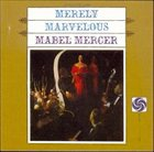 MABEL MERCER Merely Marvelous album cover