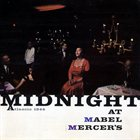 MABEL MERCER Midnight at Mabel Mercer's album cover