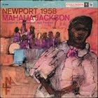MAHALIA JACKSON Newport 1958 album cover