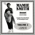 MAMIE SMITH Complete Recorded Works, Vol. 2: 1921-1922 album cover