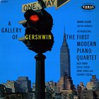MANNY ALBAM A Gallery Of Gershwin. The First Modern Piano Quartet album cover