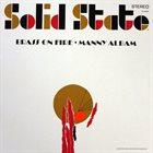 MANNY ALBAM Brass on Fire album cover