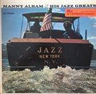 MANNY ALBAM Jazz New York album cover