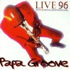 MANU DIBANGO Live 96 - Papa Groove album cover