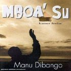 MANU DIBANGO Mboa' Su Kamer Feelin' album cover