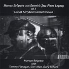 MARCUS BELGRAVE Live at Kerrytown Concert House, Vol. 1 album cover