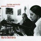MARIA BETHÂNIA Que Falta Você Me Faz: Músicas de Vinicius de Moraes album cover