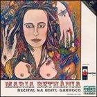 MARIA BETHÂNIA Recital na noite barrocco album cover