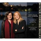 MARIA SCHNEIDER Dawn Upshaw, Maria Schneider, Australian Chamber Orchestra, The Saint Paul Chamber Orchestra : Winter Morning Walks album cover