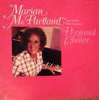MARIAN MCPARTLAND Personal Choice album cover