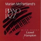 MARIAN MCPARTLAND Piano Jazz With Guest Lionel Hampton album cover