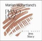 MARIAN MCPARTLAND Piano Jazz With Jess Stacy album cover