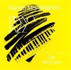 MARIAN MCPARTLAND Piano Jazz With Les McCann album cover