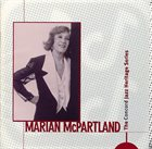 MARIAN MCPARTLAND The Concord Jazz Heritage Series album cover