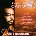 MARIO CANONGE Carte Blanche album cover