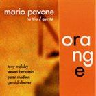 MARIO PAVONE Orange album cover