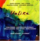 MARIO SCHIANO Unlike album cover