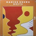 MARION BROWN Duets album cover