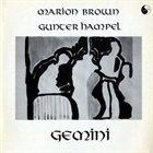 MARION BROWN Gemini (with Gunter Hampel) album cover