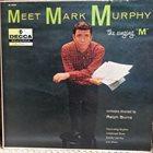 MARK MURPHY Meet Mark Murphy album cover