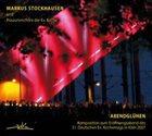 MARKUS STOCKHAUSEN Markus Stockhausen Und Posaunenchöre Der Ev. Kirche : Abendglühen album cover
