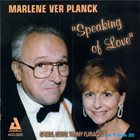 MARLENE VERPLANCK Speaking Of Love album cover