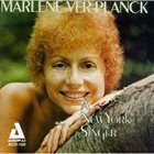 MARLENE VERPLANCK A New York Singer album cover