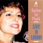 MARLENE VERPLANCK Live! in London album cover