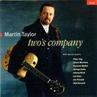 MARTIN TAYLOR Two's Company album cover