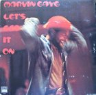 MARVIN GAYE Let's Get It On album cover