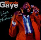 MARVIN GAYE Recorded Live In Miami album cover
