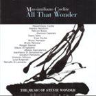 MASSIMILIANO COCLITE All That Wonder album cover