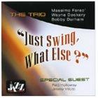 MASSIMO FARAÒ Just Swing What Else album cover