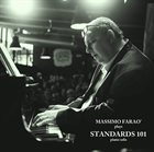 MASSIMO FARAÒ Plays Standards 101 - Piano solo album cover