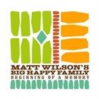MATT WILSON Matt Wilson's Big Happy Family : Beginning Of A Memory album cover