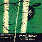 MAX ROACH In Concert Vol 1 album cover