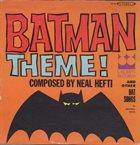 MAXWELL DAVIS Batman Theme! and Other Bat Songs album cover