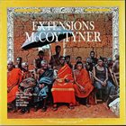 MCCOY TYNER — Extensions album cover