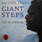 MCCOY TYNER Giant Steps. Live In Warsaw (aka Suddenly) album cover