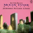 MCCOY TYNER New York Reunion album cover