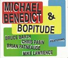 MICHAEL BENEDICT Michael Benedict and Boptitude album cover