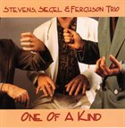 MICHAEL JEFRY STEVENS Stevens, Siegel & Ferguson Trio : One Of A Kind album cover