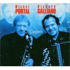 MICHEL PORTAL Concerts (with Richard Galliano) album cover